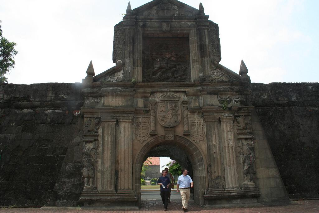 Spanish defense fortress where many Filipinos were killed and