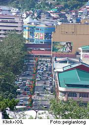 Harrison-Road in Baguio, Philippinen