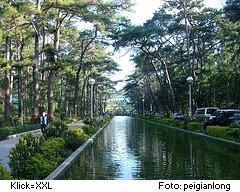 Wright Park in Baguio, Philippinen