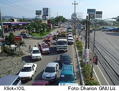 Rush Hour in Iloilo City auf Panay