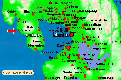 Vulkane Philippinen Karte.Kernkraftwerk Auf Den Philippinen